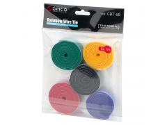 VELCRO 1METER x5 Multi-Color CABLE