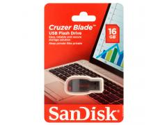 16GB SanDisk Cruzer Blade Flash Drive