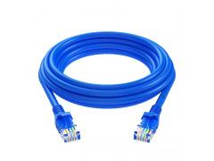 0.5m CAT5 UTP Flylead (Blue)